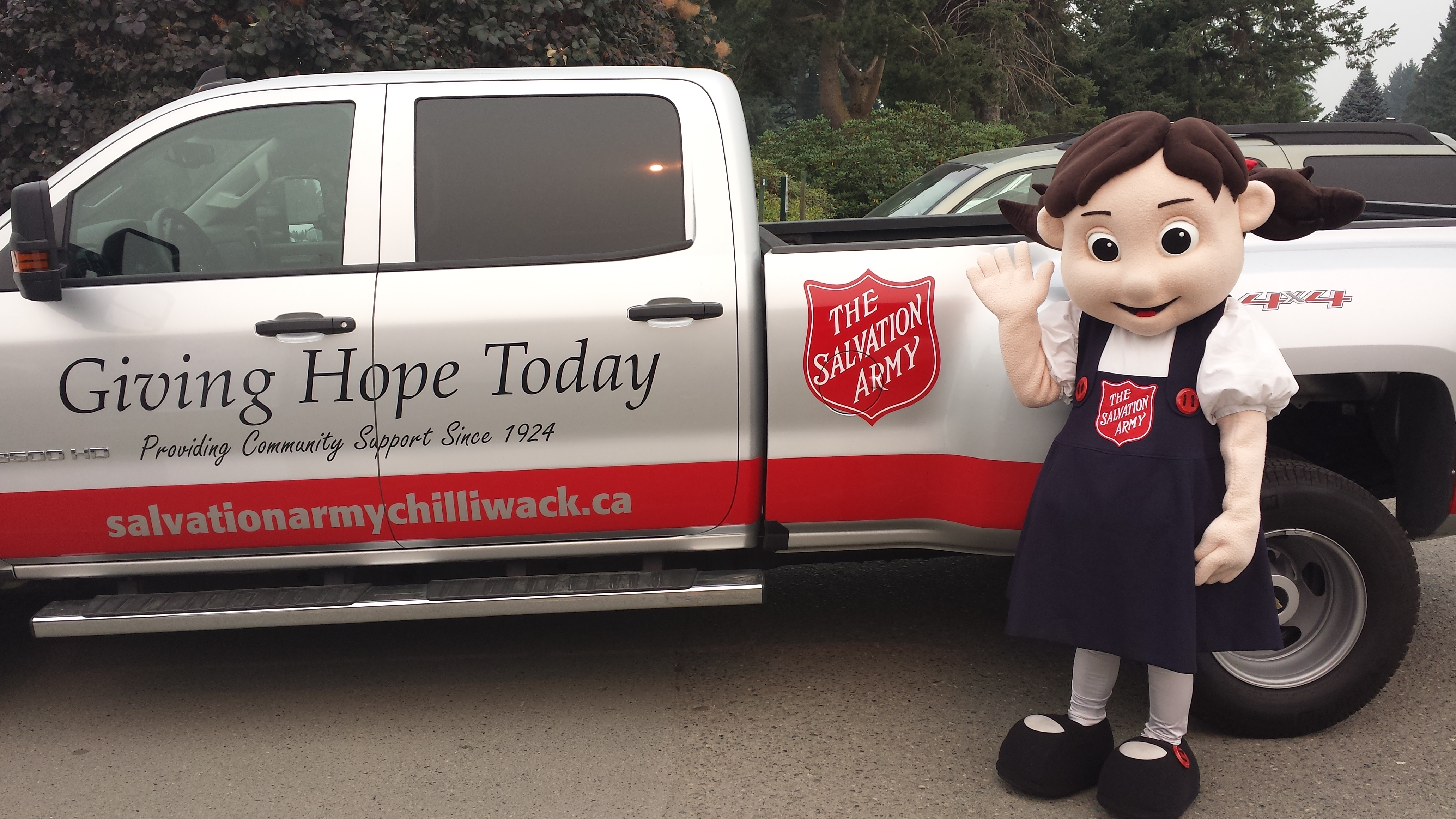 Salvation Army Chilliwack Giving Hope Today